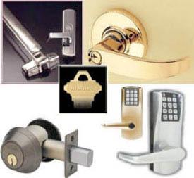 What are the products and services of a full service home locksmith?